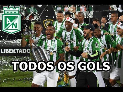 Toda a CAMPANHA do Campeão Atlético Nacional - HD - Libertadores 2016