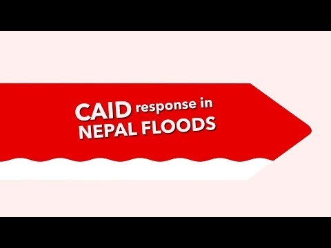 CAID response in Nepal Floods 2017