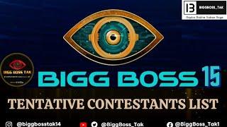 Bigg Boss 15 Tentative Celebrities Contestants Approached List   BiggBoss_Tak  
