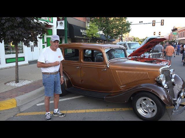 1934 Ford 4 Door Sedan - Great USClassicMuscleCars Fan - Morris Car Show