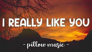 I Really Like You - Carly Rae Jepsen (Lyrics) 🎵