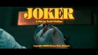 JOKER - 70's Retro Trailer (Taxi Driver Style)