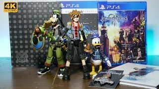 Unboxing: Bring Arts Toy Story Sora, Goofy, and Donald from Kingdom Hearts 3 Deluxe Edition
