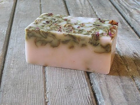 How to Make Organic Soap at Home - YouTube