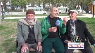 BİRECİK'TE AMCALARLA TATLI SOHBET MİSAFİR