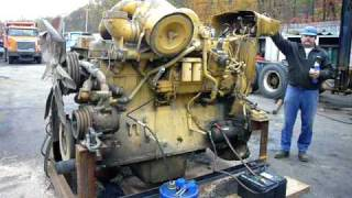 Caterpillar Motor from a D9 Dozer