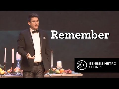 Remember: Do This In Remembrance l Pastor Tim Bourne