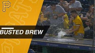 Foul popup wrecks Bucs fan's beverage in Pittsburgh