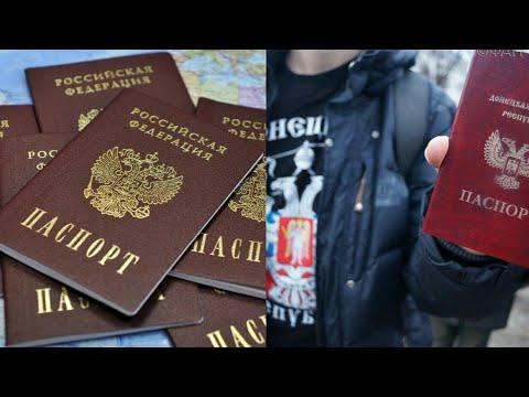 Указ Путина, гражданство для ДНР и ЛНР, подписан указ о выдаче паспортов для жителей ЛДНР.