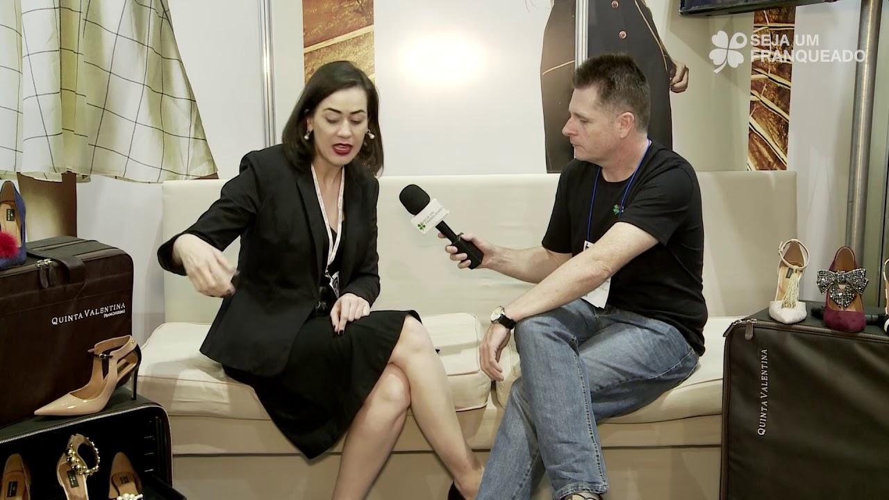 8b6621760 Quinta Valentina uma franquia inovadora de sapatos femininos - YouTube