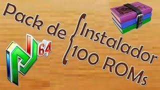 Descargar e instalar Project64 v2.1 | Descargar e instalar pack de 100 ROMs (juegos)