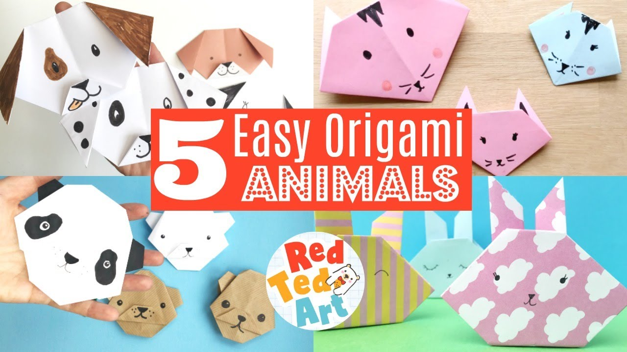 Origami Animal Friends: Fold 35 of your favorite dogs, cats ... | 720x1280