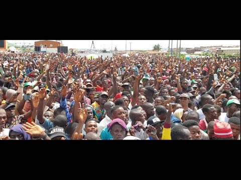 Shocking!The whole of Osogbo comes out in mass to support Davido Uncle's Adeleke mega Rally in Osun