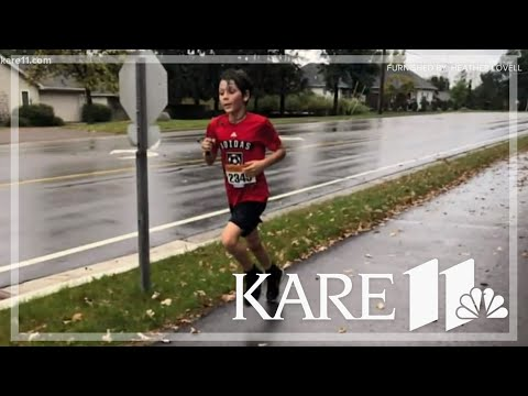 Kevin & Liz - 9 year old accidentally wins a 10K race
