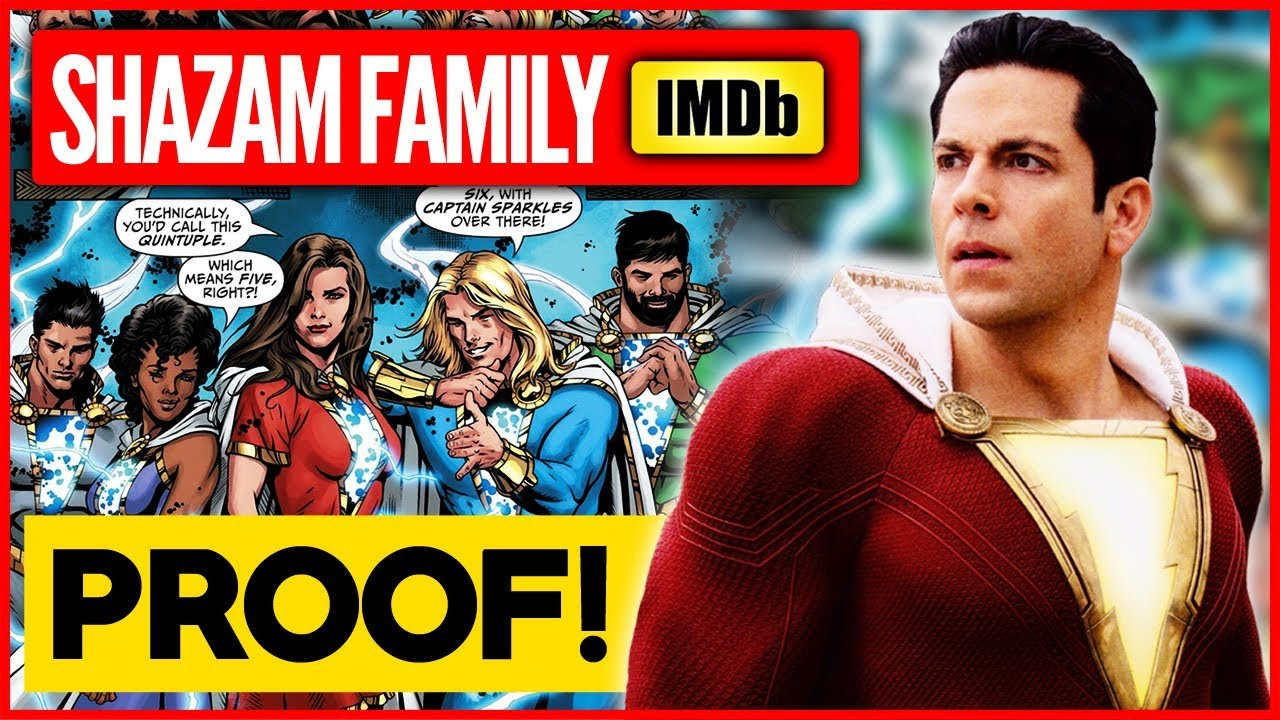 PROOF the SHAZAM Family is in the Movie!