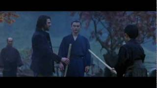 The Last Samurai fight scene in the rain