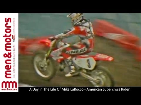 A Day In The Life Of Mike LaRocco - American Supercross Rider