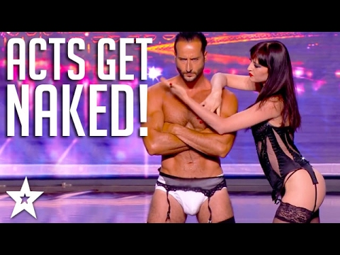 Top 10 NAKED ACTS on Got Talent! | Got Talent Global
