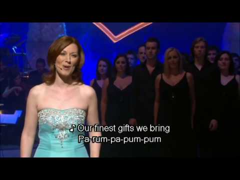 Celtic Woman - The Little Drummer Boy (w/  Lyrics)