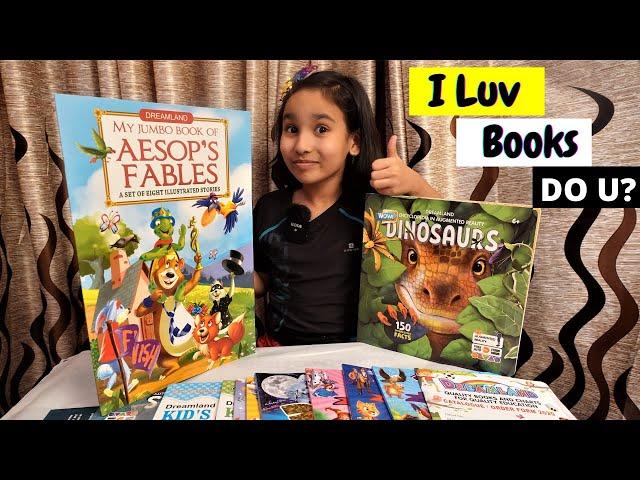 I Love Books   #LearnWithPari #dreamlandpublications
