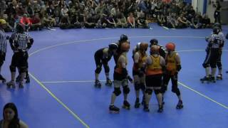 Manhattan Mayhem vs. Queens of Pain 2017- Gotham Girls Roller Derby