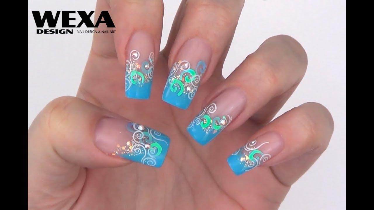 Nail Art Inspiration 1 Wexa - YouTube