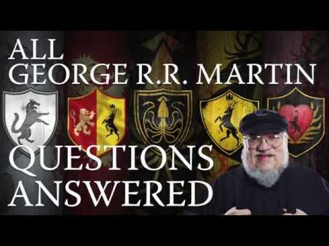 George RR Martin Question Repository 2