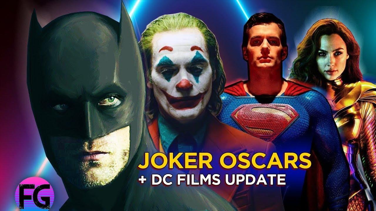 GOB: DCEU: Joker Going To Oscars? Wonder Woman 1984, Superman & The Batman