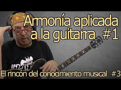 Armonía aplicada a la guitarra #1