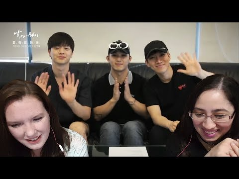 BTOB(Seo Eun Kwang,Lim Hyun Sik,Yook Sung Jae)-Ambiguous Reaction Video