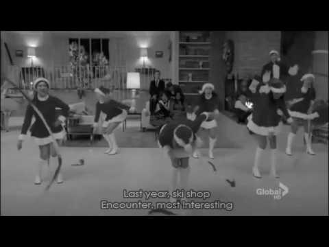 Glee - Christmas Wrapping (Full Performance with Lyrics)