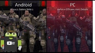 XCOM Enemy Unknown | Android vs PC | English | Graphics, Controls, Gameplay