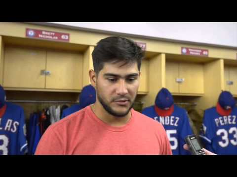 Time to compete for Rangers Martin Perez