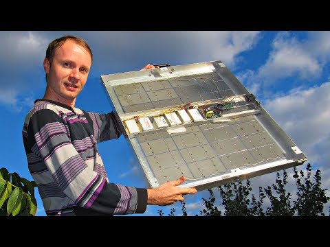 A new Solar Power Plant DIY - Make one with Kreosan