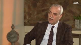 ما الذي فاجأ طارق الهاشمي أثناء لقائه المرجع السيستاني؟