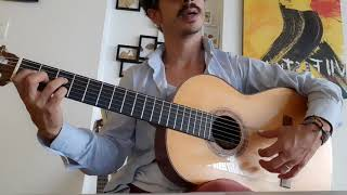 Ejercicio Alzapúa Soleá por Buleria / Video tutorial de guitarra/Distrito Flamenco