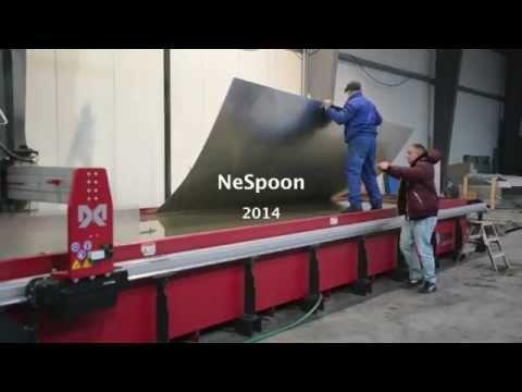 NeSpoon / Sharjah Art Museum - preparations