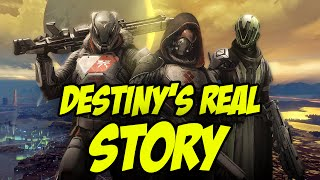 Destiny's Real Story - Content that didn't make it to Release