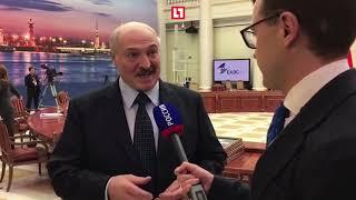 Лукашенко извинился перед Путиным