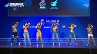 140911 t ara number 9 kbs 2014 17th incheon asian games