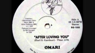 Boogie Down - Omari - After Loving You