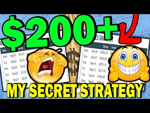 Earn $200+ a Day FAST With My SECRET Strategy (How To Promote Clickbank Products)