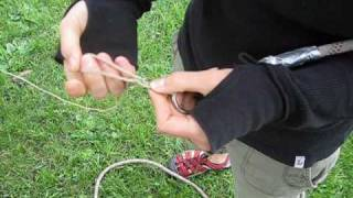 Tree Climbing: Getting the Rope in the Tree - Rope Attachment