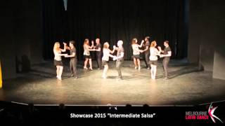 Melbourne Latin Dance Showcase 2015 - Intermediate Salsa
