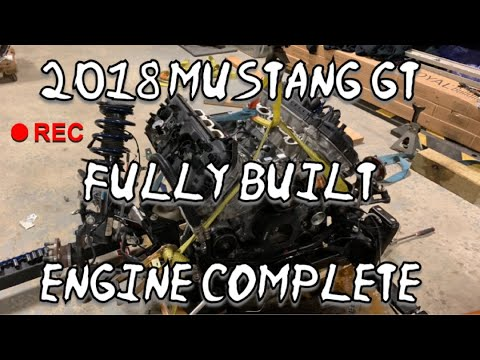 2018 MUSTANG GT 10R80 ENGINE BUILD IS COMPLETE FINALLY HOPEFULLY NO MORE TICK