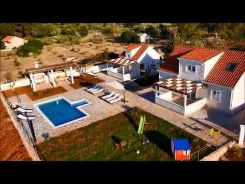 Croatian Villas - Two villas with private pools near Supetar, on Brac Island sleeps 6-10 (BC062)