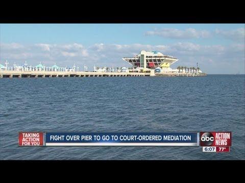 Judge orders City of St. Petersburg to talk with pier activists VoteOnThePier.com