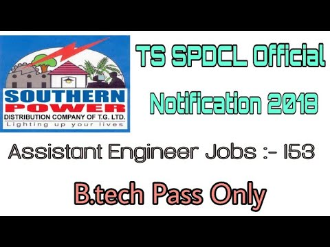 TS SPDCL Assistant Engineer Jobs 2018 | Official Notification | How to Apply Online | How to Prepare