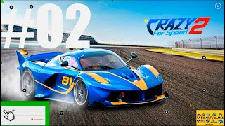 GAMEPLAY CRAZY FOR SPEED 2 CIRCUITO LONDON, E NEVADA CAR CLASS C  CHEETAH #02