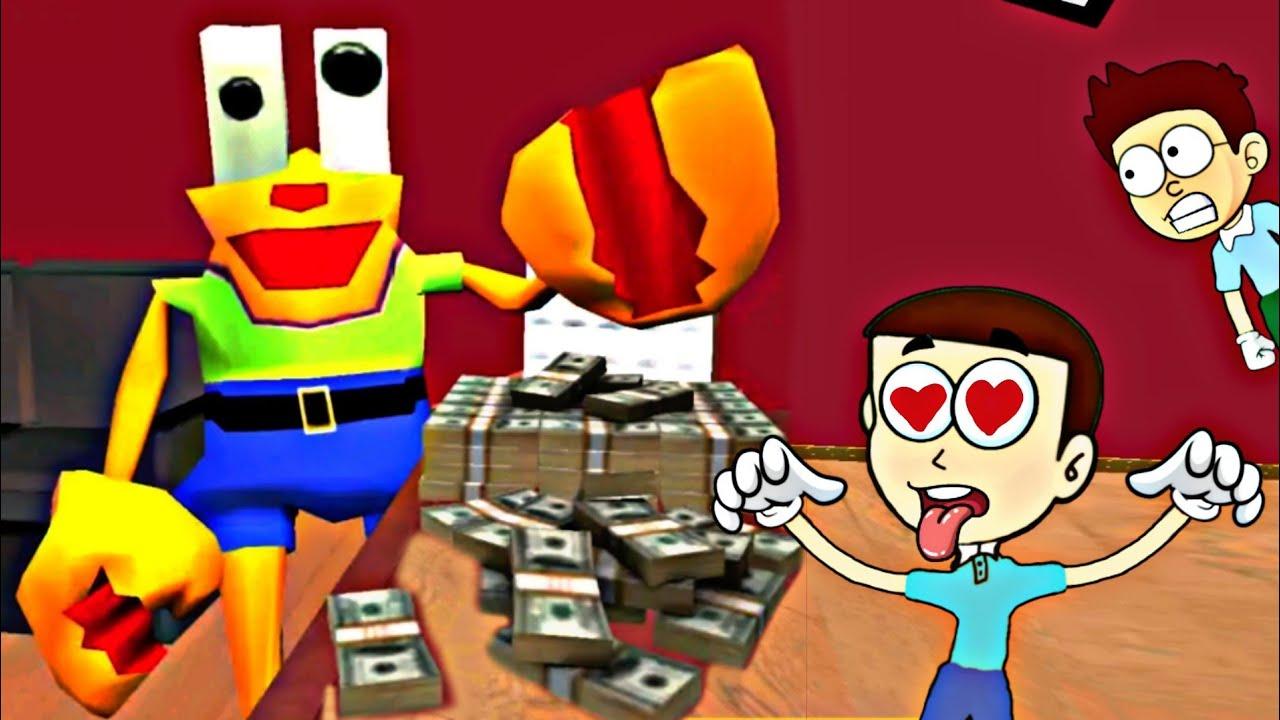 Granny ka new pet Scorpion- Krab Sponge Neighbor 3D | Shiva and Kanzo Gameplay